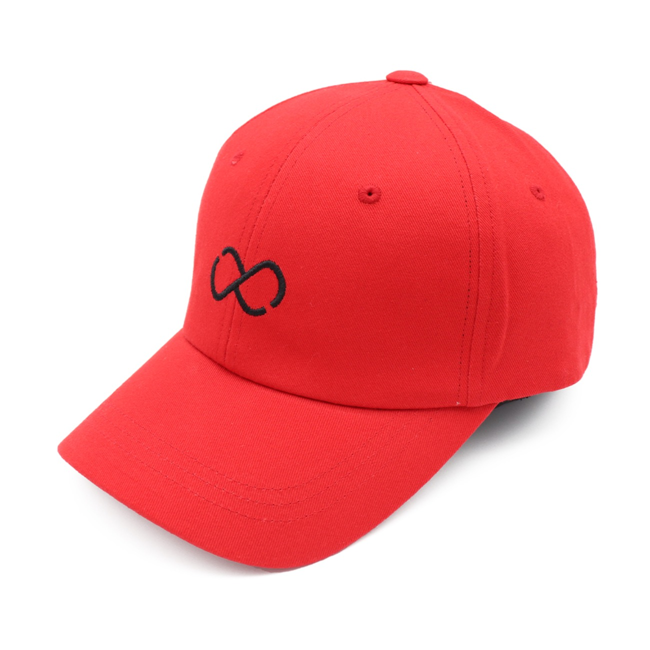 Front Infinito Logo Red